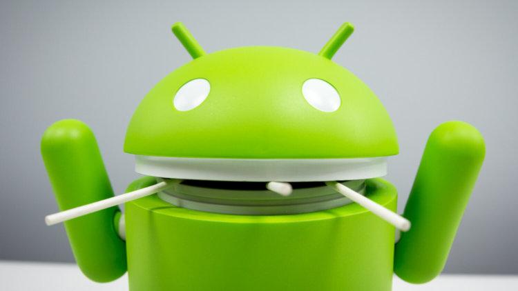 Android с леденцами