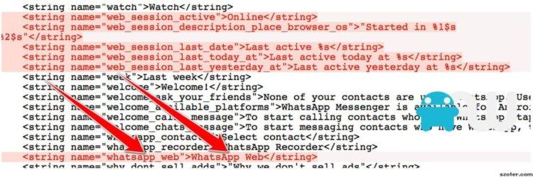 Код WhatsApp