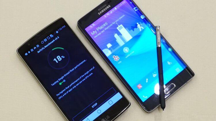 G Flex 2 и Note Edge. Соревнование изогнутых смартфонов