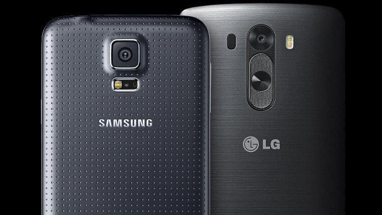 LG G3 и Samsung Galaxy S5