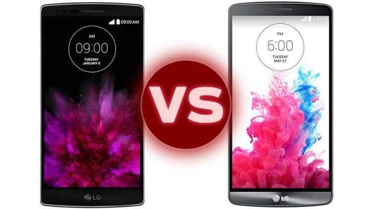LG G Flex 2 и G3