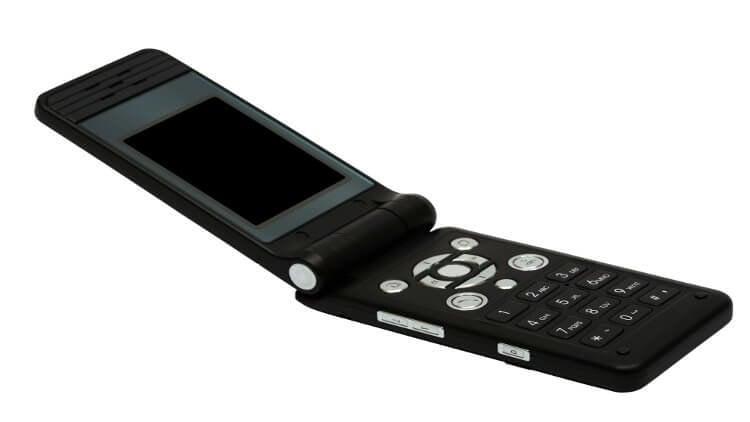 Телефон-раскладушка