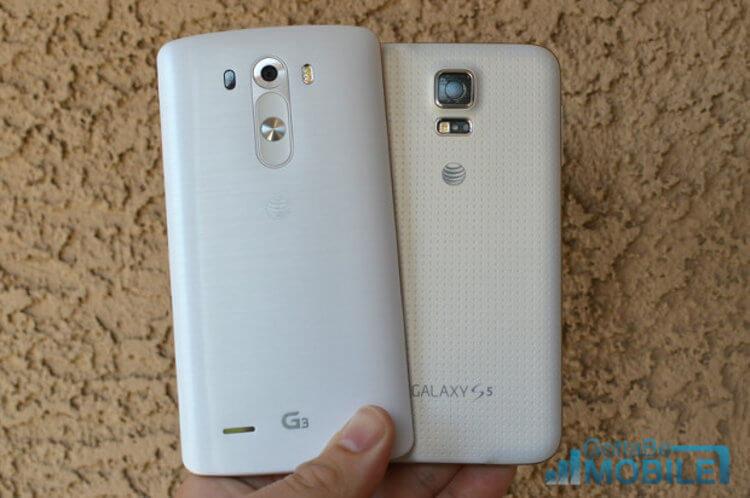 LG G3 Samsung Galaxy S5