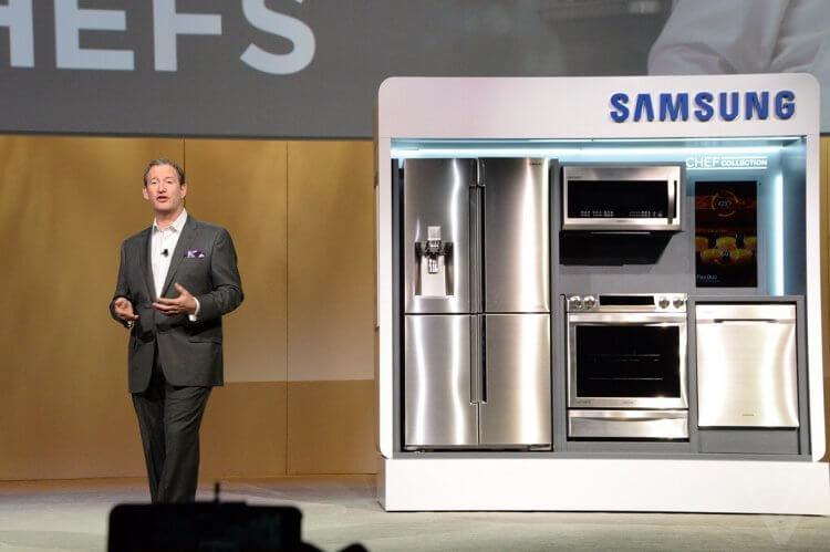 Кухонная техника Samsung 2015 года