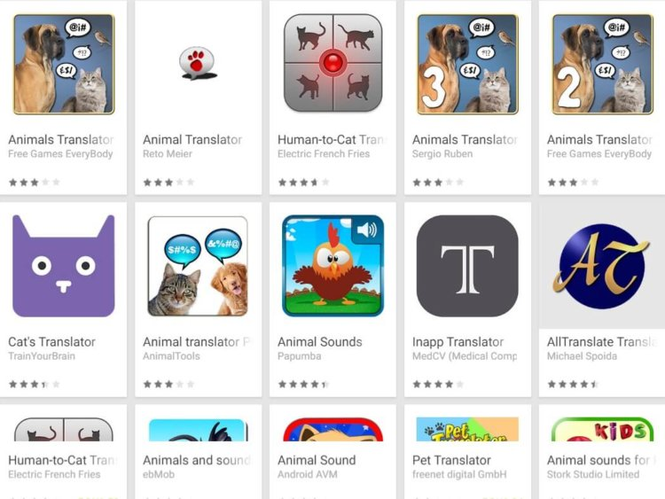 Animal-translator-apps