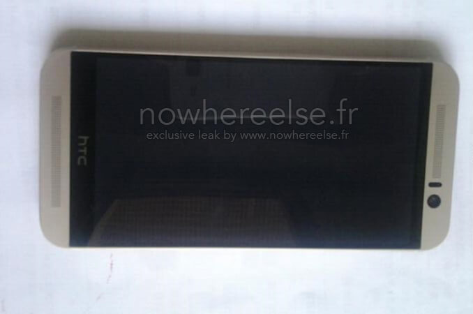 прототип HTC OneM9 спереди