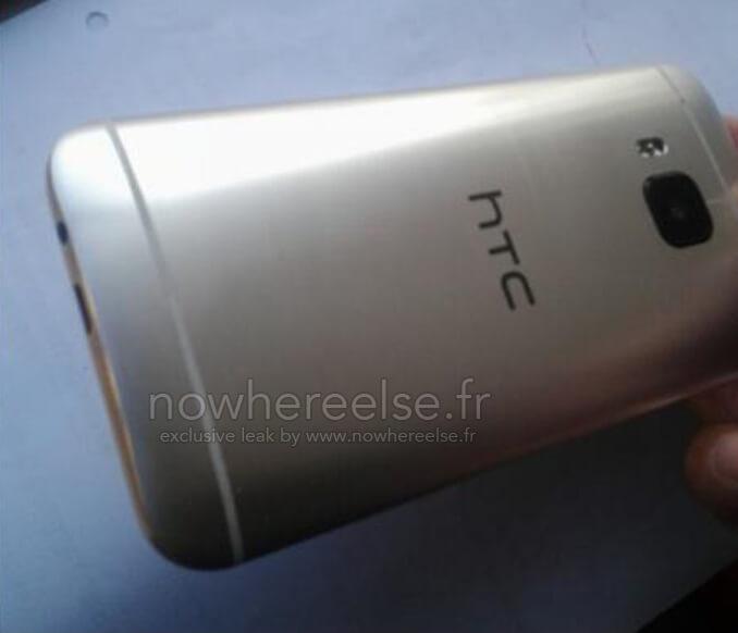 прототип HTC OneM9 сзади