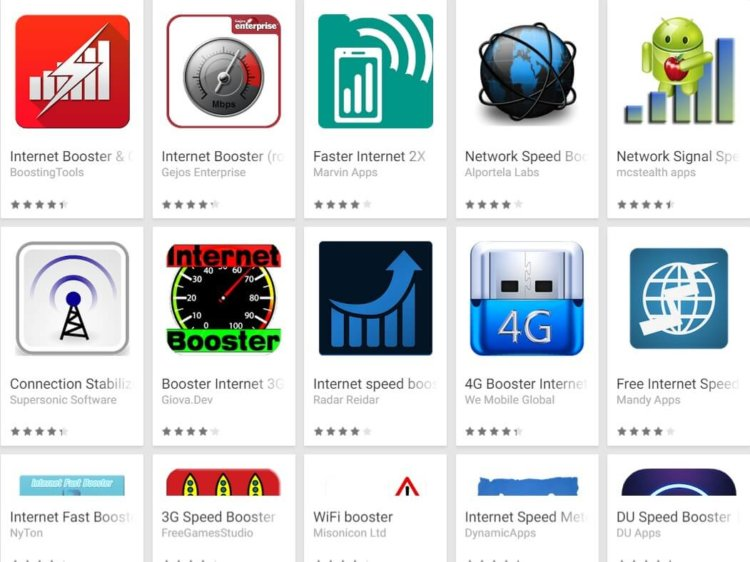 Internet-booster-apps