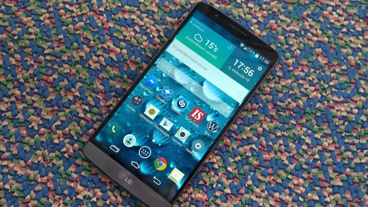 Как превратить свой смартфон в LG G3?
