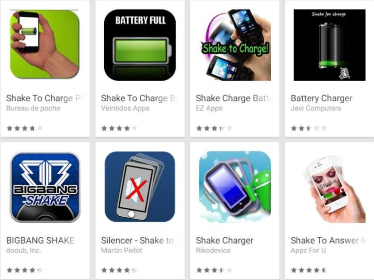 Shake-to-charge-apps