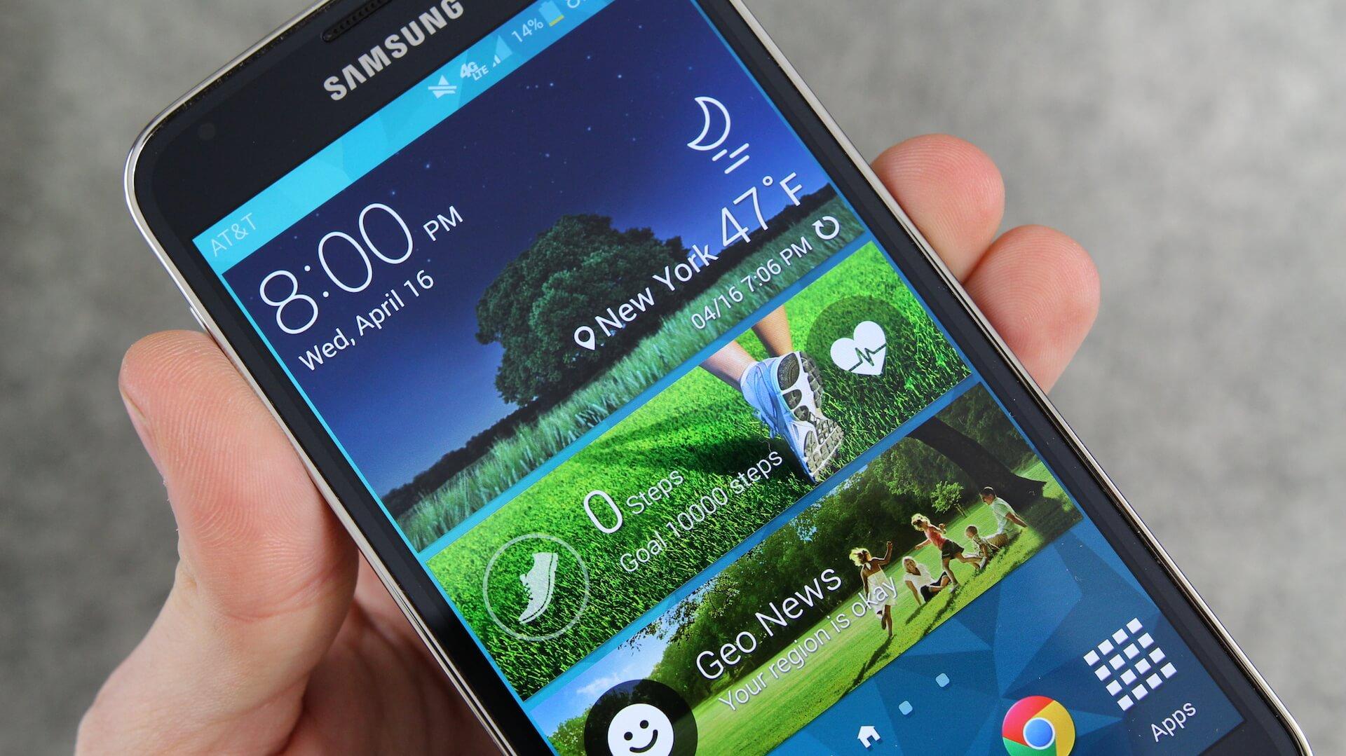 TouchWiz в Galaxy S6 станет ближе к интерфейсу стокового Android