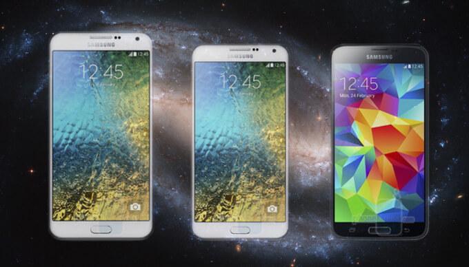 Сравнение Galaxy A5 и A3 с Galaxy S5