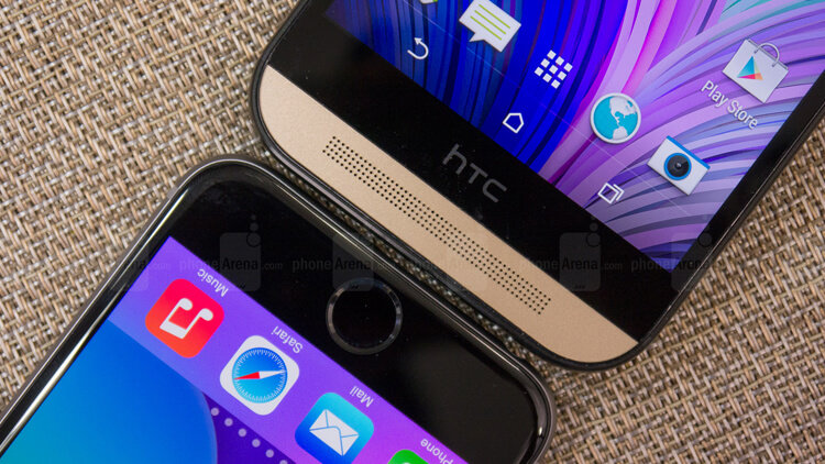 htc one x vs iphone 6