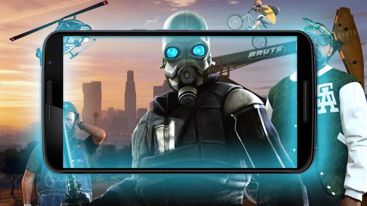 Игры для Android, или Когда ждать GTA 5?