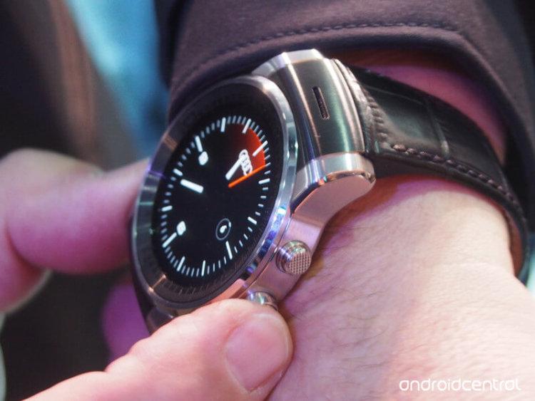 Таинственные часы LG