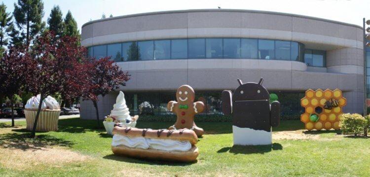 Android - сладкая история
