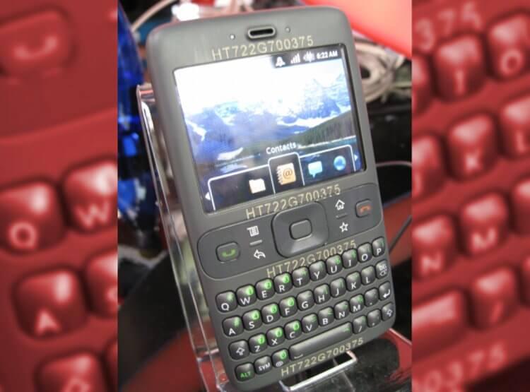 Sooner - прототип Android-телефона