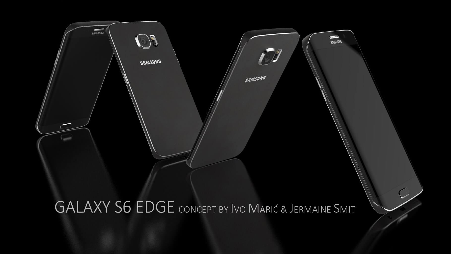 Свежие концепты Samsung Galaxy S6 и S6 Edge (+видео)