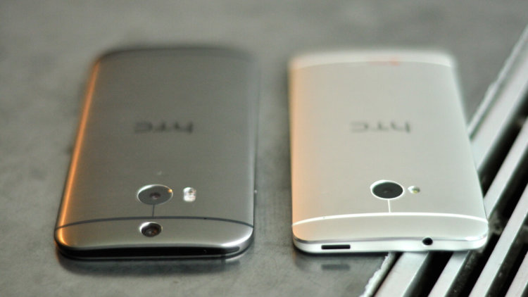 HTC One M8 vs M7