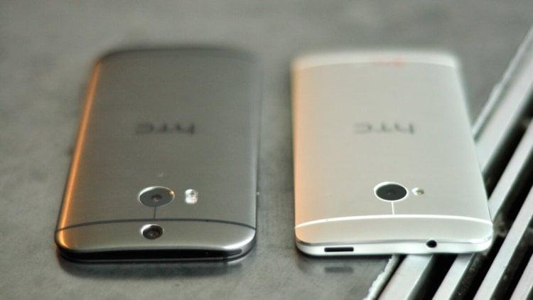 HTC One M8 vs M7