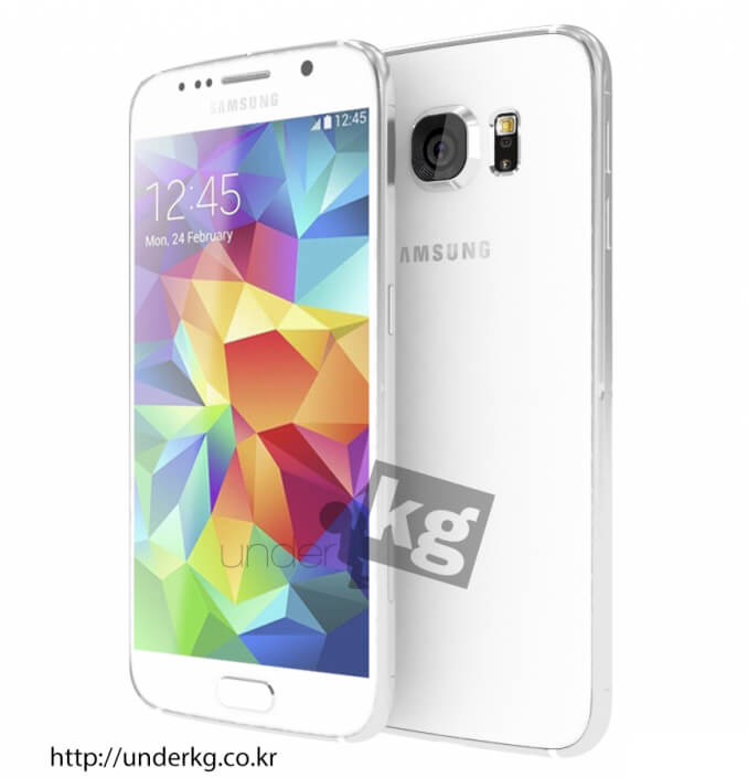 New-renders-show-the-Galaxy-S6-compare-it-with-the-iPhone-6