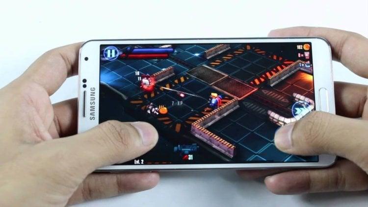 Smartphone-Gaming