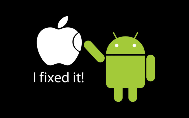 android починил apple