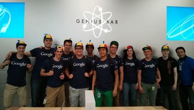 genius bar google