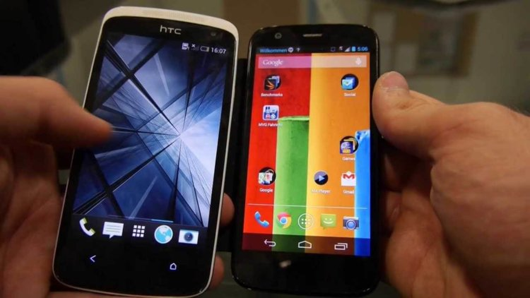 htc and motorola