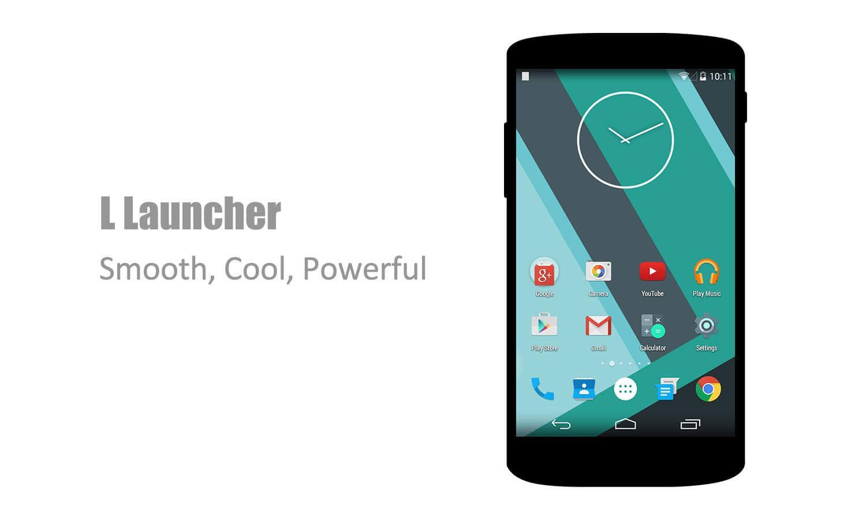 Устали ждать Android 5.0 Lollipop? L Launcher уже в Google Play