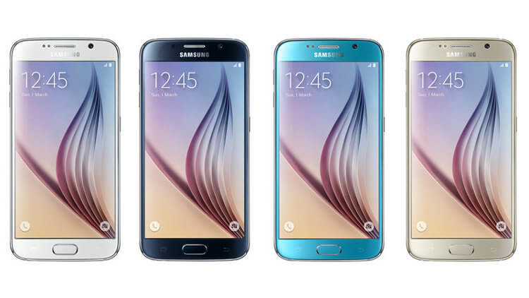Цвета Galaxy S6