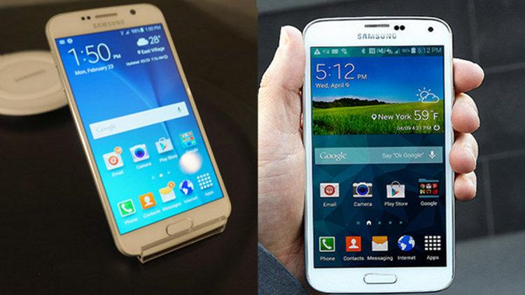 Samsung Galaxy S5 и S6