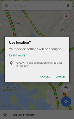 GPS 7.0 Location Settings Dialog