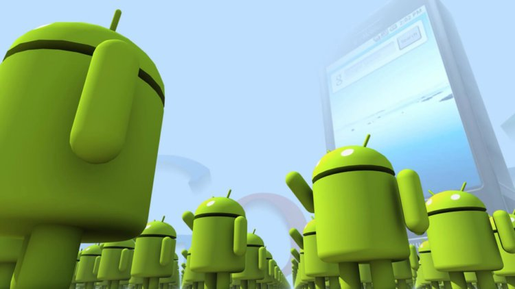 Green Android Robot Army wallpapers HD 1280x720