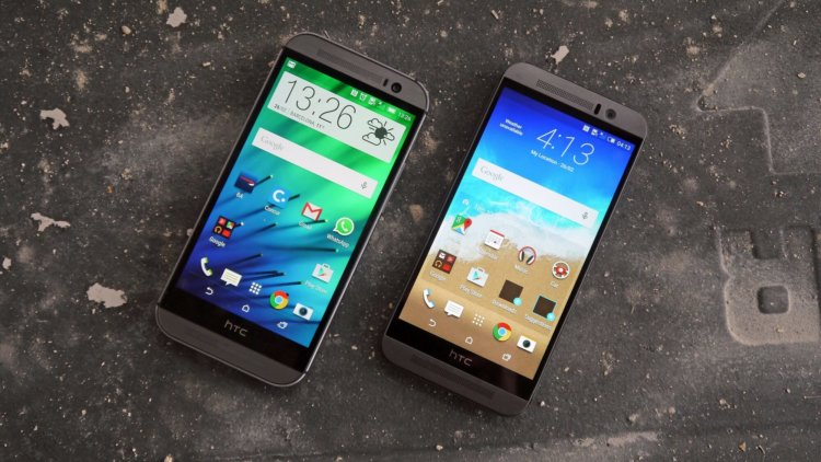 HTC One M9 and M8