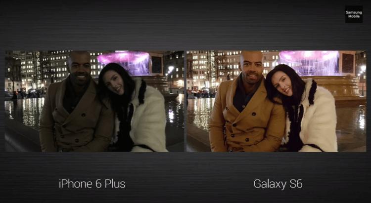 Galaxy-S6 camera vsiPhone-6 camera