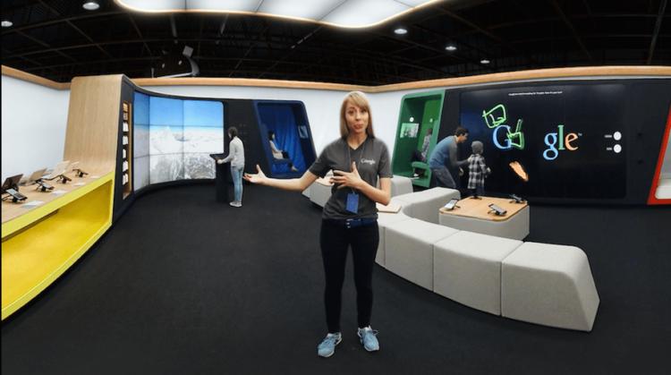 google shop VR tour 2