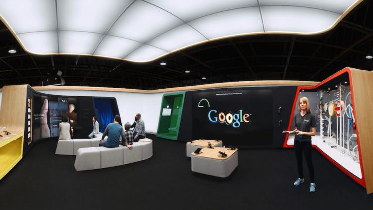 google shop VR tour