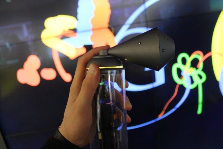google shop doodle spray