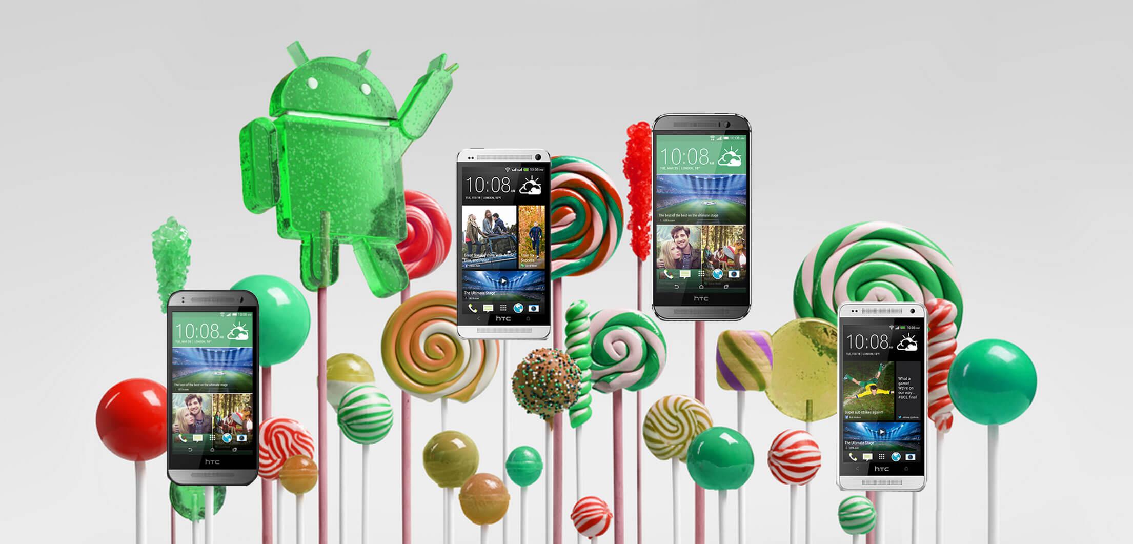 Кто и когда получит Android 5.0 Lollipop