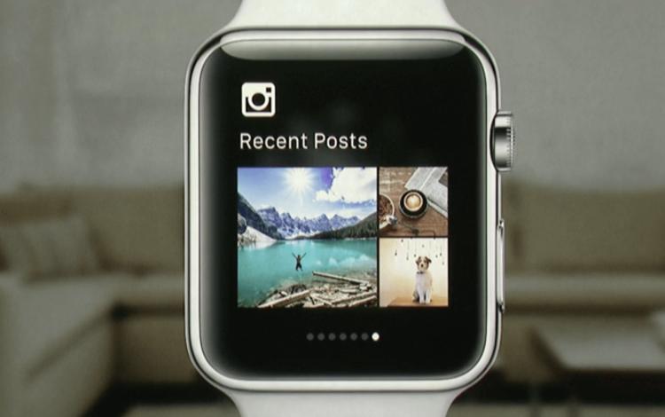 instagram on apple watch