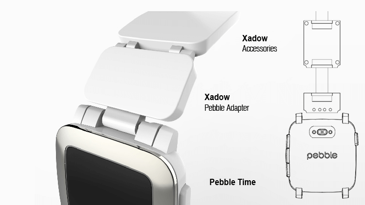 pebble time smartstrape