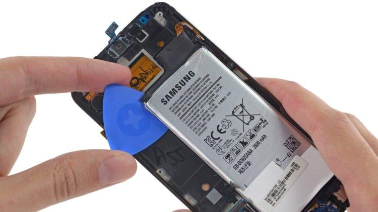 Батарея Galaxy S6 Edge