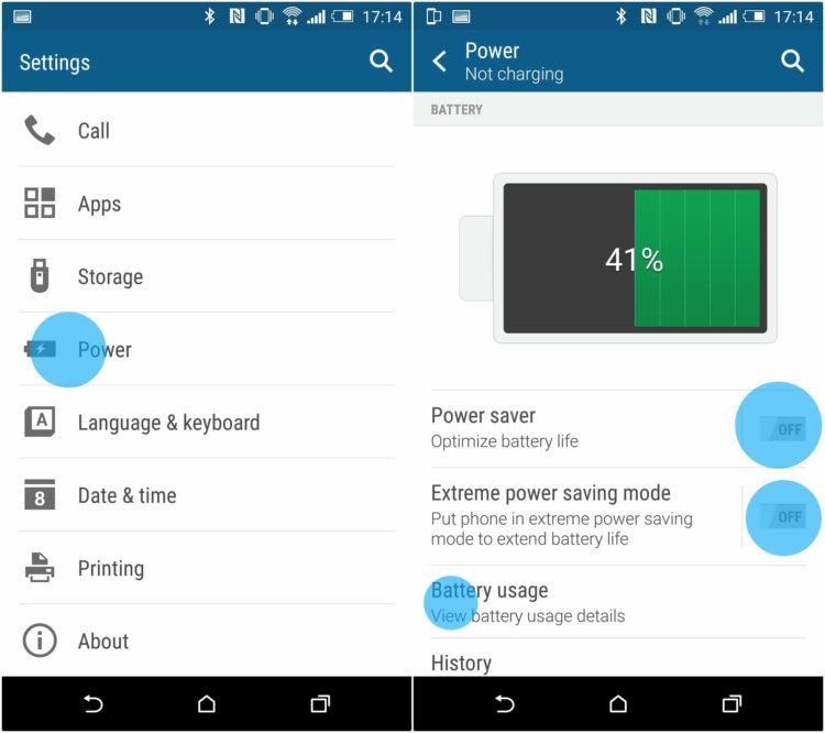 Toggle-sleep-mode--amp-battery-saver-modes
