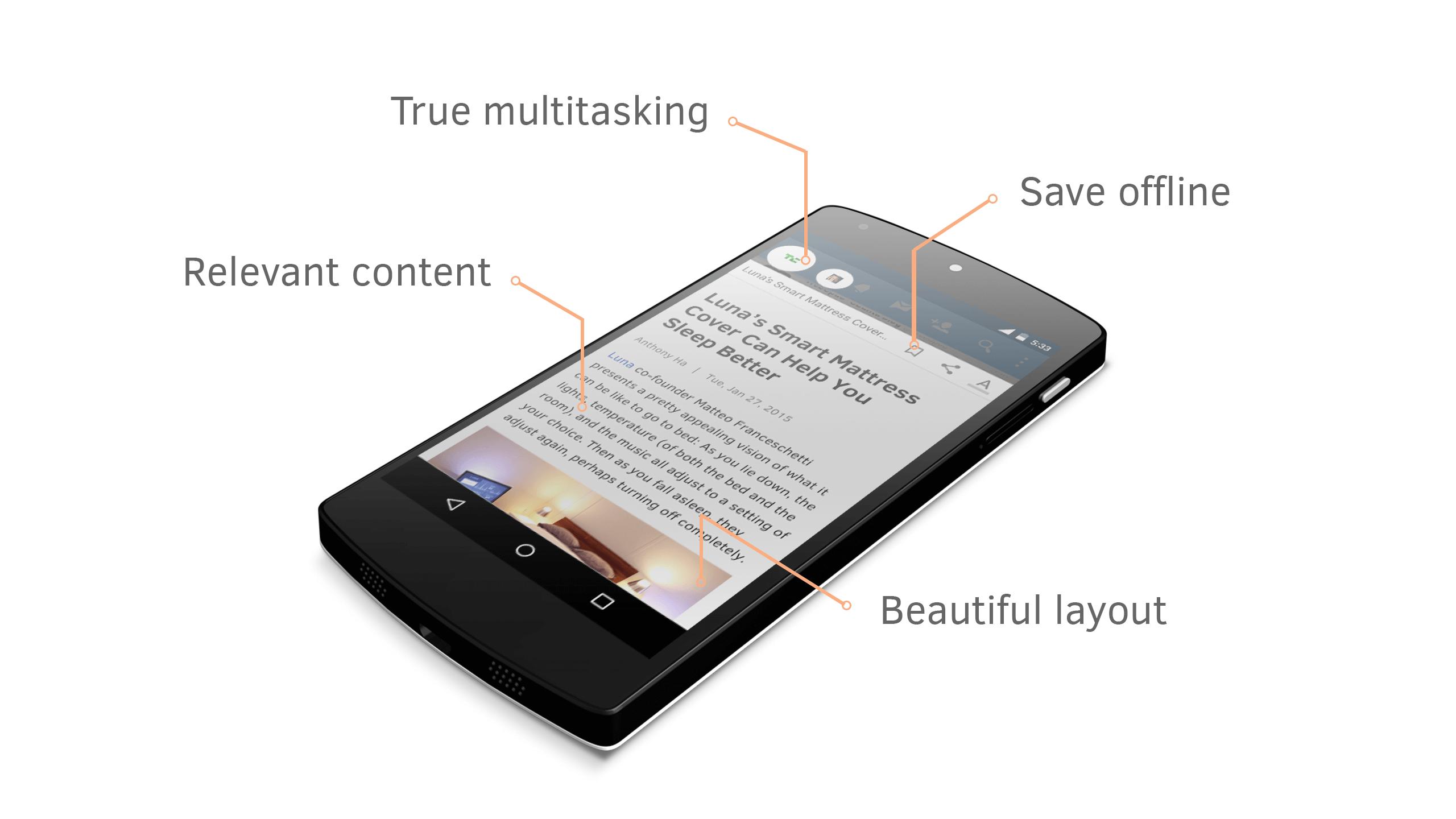 Это приложение изменит то, как мы используем смартфоны
