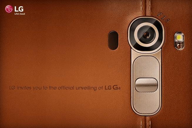 lg g4 unveils