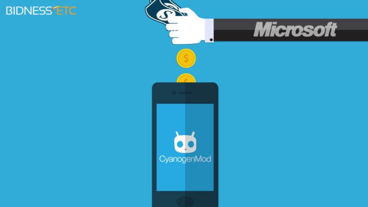 cyanogen и microsoft