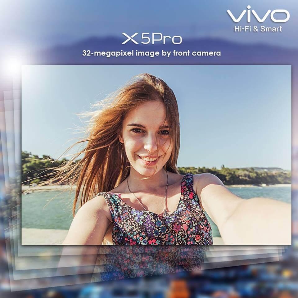 vivo x5pro 32 mp selfie