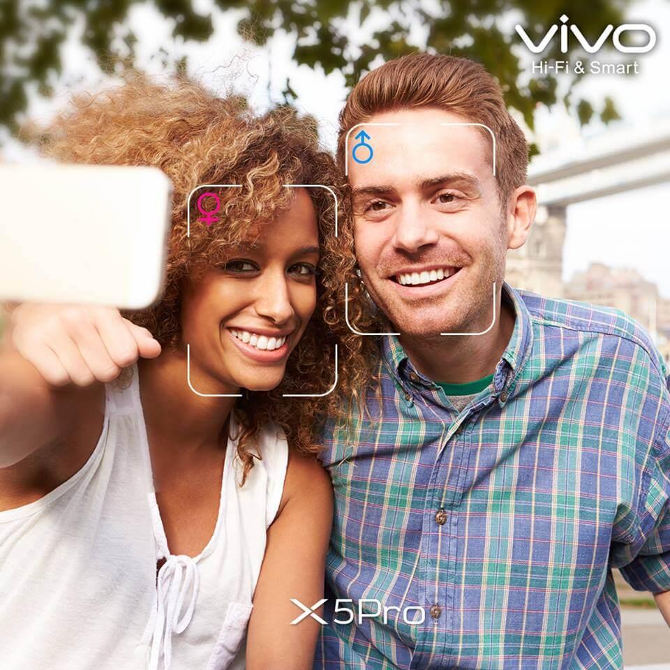 vivo x5pro selfie