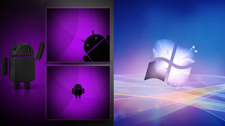Android и Windows